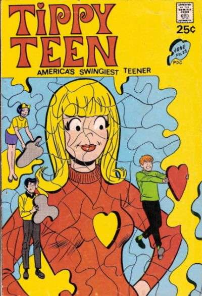Tippy Teen #23 comic books for sale