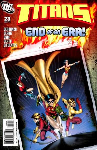 Titans #23 Comic Books - Covers, Scans, Photos  in Titans Comic Books - Covers, Scans, Gallery
