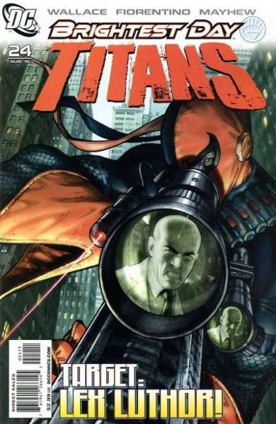 Titans #24 comic books - cover scans photos Titans #24 comic books - covers, picture gallery