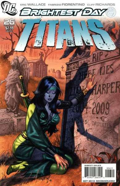 Titans #26 comic books - cover scans photos Titans #26 comic books - covers, picture gallery