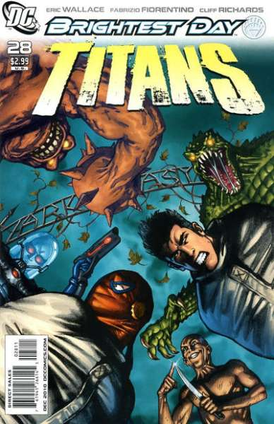 Titans #28 comic books - cover scans photos Titans #28 comic books - covers, picture gallery
