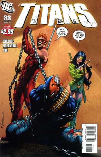 Titans #33 comic books - cover scans photos Titans #33 comic books - covers, picture gallery