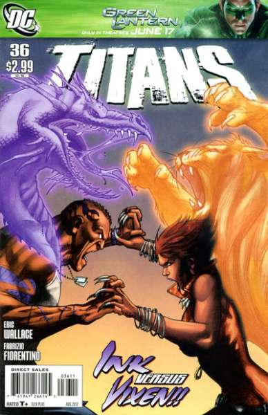 Titans #36 comic books for sale