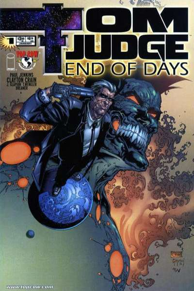 Tom Judge: End of Days #1 comic books - cover scans photos Tom Judge: End of Days #1 comic books - covers, picture gallery
