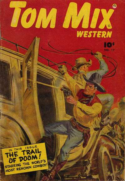 Tom Mix Western #17 comic books - cover scans photos Tom Mix Western #17 comic books - covers, picture gallery