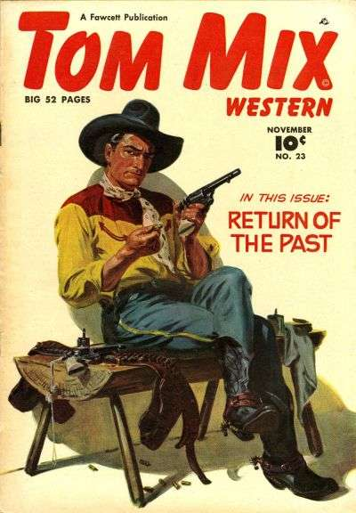 Tom Mix Western #23 comic books for sale