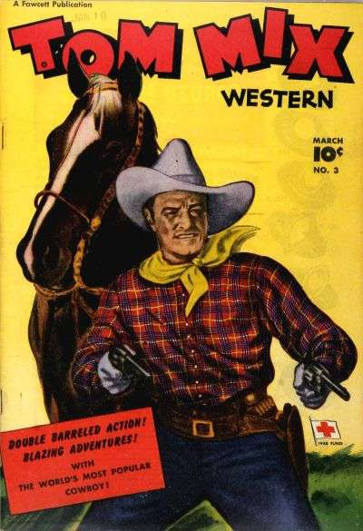 Tom Mix Western #3 comic books for sale