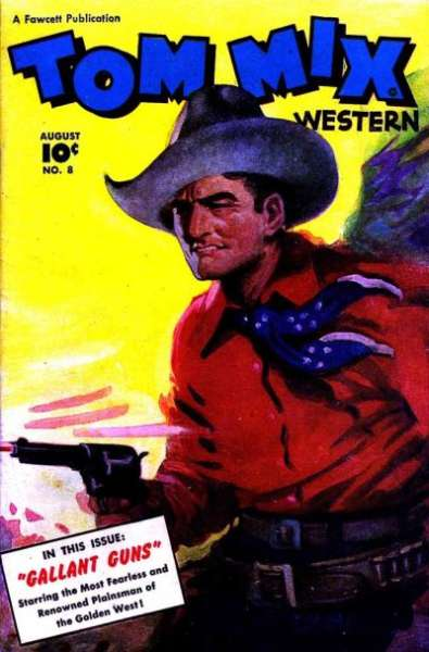 Tom Mix Western #8 comic books for sale