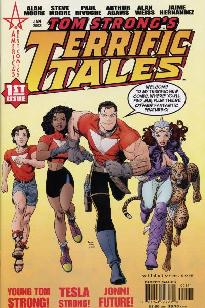 Tom Strong's Terrific Tales comic books