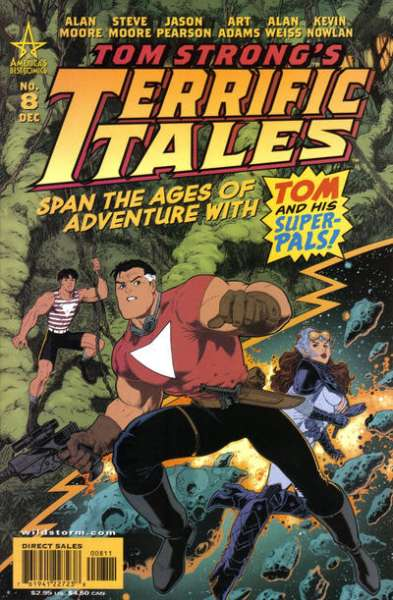 Tom Strong's Terrific Tales #8 Comic Books - Covers, Scans, Photos  in Tom Strong's Terrific Tales Comic Books - Covers, Scans, Gallery