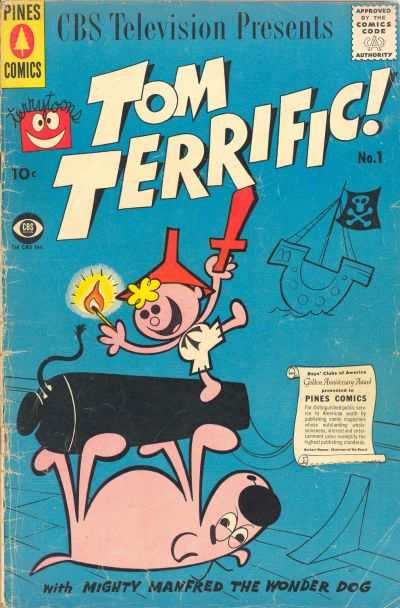 Tom Terrific! comic books