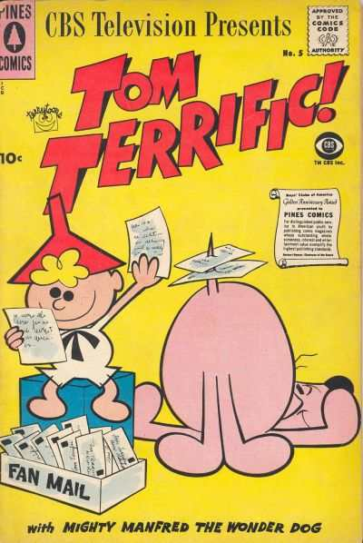 Tom Terrific! #5 comic books for sale
