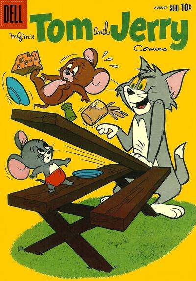 Tom and Jerry #193 comic books - cover scans photos Tom and Jerry #193 comic books - covers, picture gallery