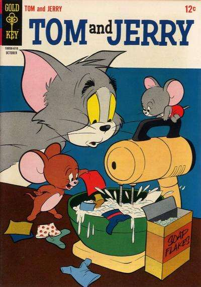Tom and Jerry #232 comic books - cover scans photos Tom and Jerry #232 comic books - covers, picture gallery