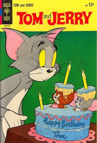 Tom and Jerry #240 comic books - cover scans photos Tom and Jerry #240 comic books - covers, picture gallery