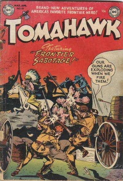 Tomahawk #10 Comic Books - Covers, Scans, Photos  in Tomahawk Comic Books - Covers, Scans, Gallery