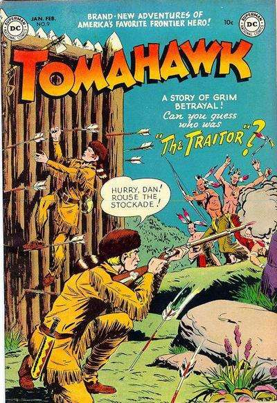 Tomahawk #9 Comic Books - Covers, Scans, Photos  in Tomahawk Comic Books - Covers, Scans, Gallery