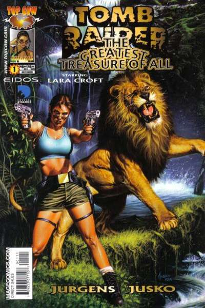Tomb Raider: The Greatest Treasure of All #1 Comic Books - Covers, Scans, Photos  in Tomb Raider: The Greatest Treasure of All Comic Books - Covers, Scans, Gallery
