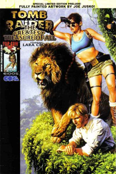 Tomb Raider: The Greatest Treasure of All #1 comic books - cover scans photos Tomb Raider: The Greatest Treasure of All #1 comic books - covers, picture gallery