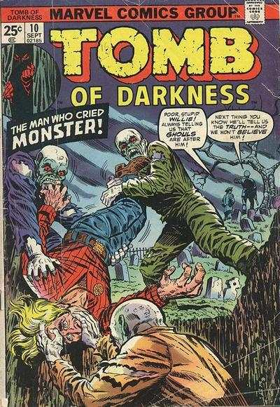 Tomb of Darkness #10 Comic Books - Covers, Scans, Photos  in Tomb of Darkness Comic Books - Covers, Scans, Gallery