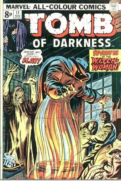 Tomb of Darkness #11 Comic Books - Covers, Scans, Photos  in Tomb of Darkness Comic Books - Covers, Scans, Gallery
