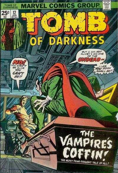 Tomb of Darkness #12 Comic Books - Covers, Scans, Photos  in Tomb of Darkness Comic Books - Covers, Scans, Gallery