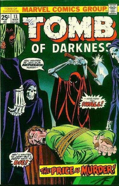 Tomb of Darkness #13 comic books for sale