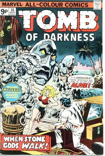 Tomb of Darkness #16 comic books for sale