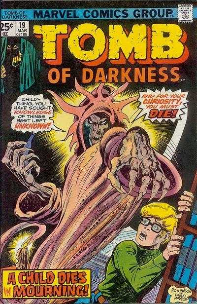 Tomb of Darkness #19 Comic Books - Covers, Scans, Photos  in Tomb of Darkness Comic Books - Covers, Scans, Gallery