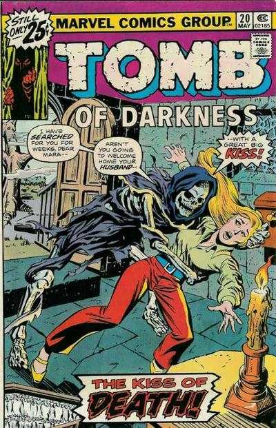 Tomb of Darkness #20 Comic Books - Covers, Scans, Photos  in Tomb of Darkness Comic Books - Covers, Scans, Gallery