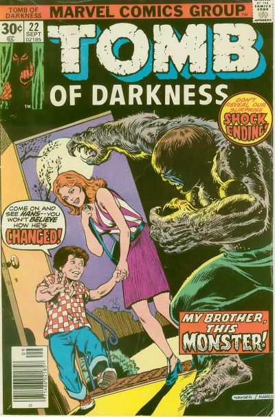 Tomb of Darkness #22 Comic Books - Covers, Scans, Photos  in Tomb of Darkness Comic Books - Covers, Scans, Gallery