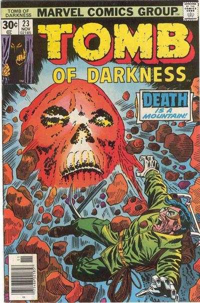 Tomb of Darkness #23 comic books for sale