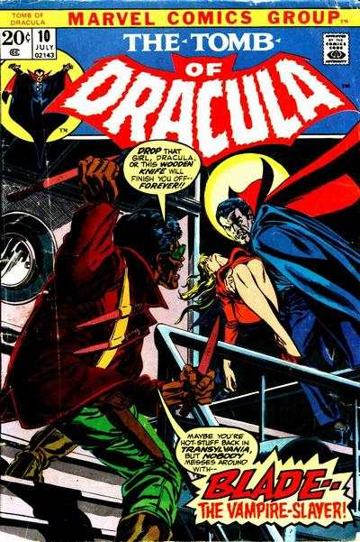 Tomb of Dracula #10 Comic Books - Covers, Scans, Photos  in Tomb of Dracula Comic Books - Covers, Scans, Gallery