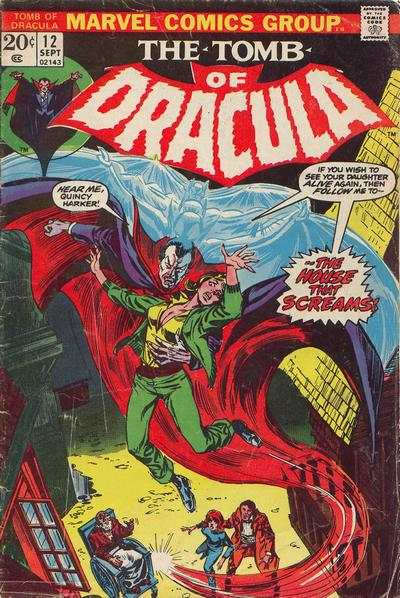 Tomb of Dracula #12 comic books - cover scans photos Tomb of Dracula #12 comic books - covers, picture gallery