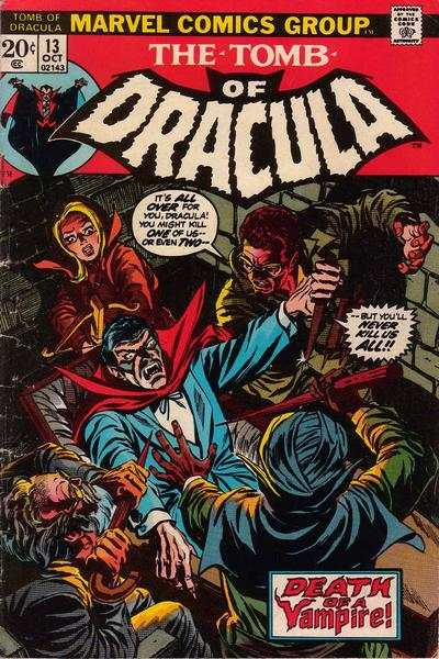 Tomb of Dracula #13 comic books - cover scans photos Tomb of Dracula #13 comic books - covers, picture gallery