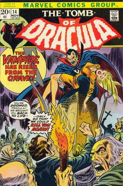 Tomb of Dracula #14 comic books for sale