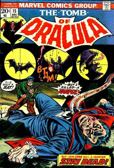 Tomb of Dracula #15 comic books - cover scans photos Tomb of Dracula #15 comic books - covers, picture gallery