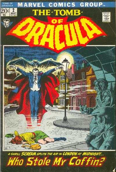 Tomb of Dracula #2 Comic Books - Covers, Scans, Photos  in Tomb of Dracula Comic Books - Covers, Scans, Gallery