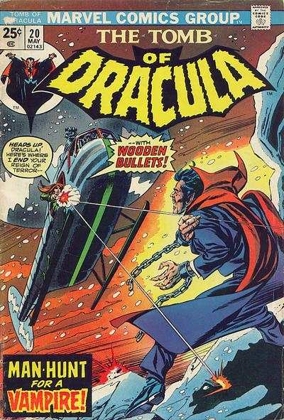 Tomb of Dracula #20 comic books - cover scans photos Tomb of Dracula #20 comic books - covers, picture gallery