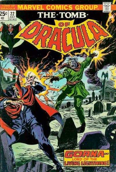Tomb of Dracula #22 comic books - cover scans photos Tomb of Dracula #22 comic books - covers, picture gallery