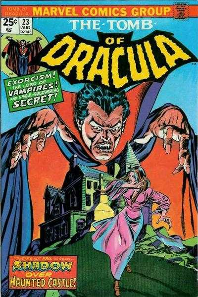 Tomb of Dracula #23 comic books - cover scans photos Tomb of Dracula #23 comic books - covers, picture gallery