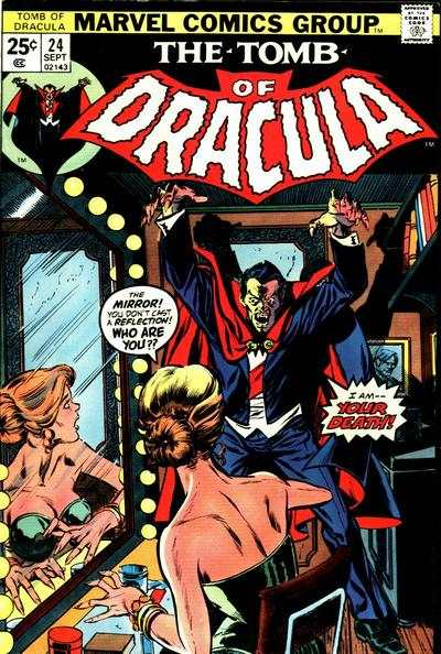 Tomb of Dracula #24 comic books - cover scans photos Tomb of Dracula #24 comic books - covers, picture gallery