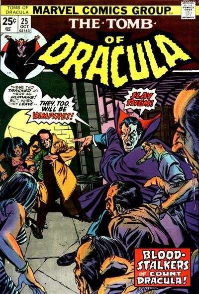 Tomb of Dracula #25 Comic Books - Covers, Scans, Photos  in Tomb of Dracula Comic Books - Covers, Scans, Gallery
