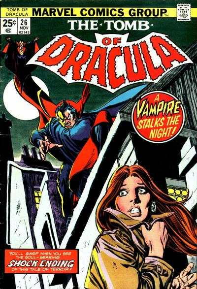 Tomb of Dracula #26 comic books - cover scans photos Tomb of Dracula #26 comic books - covers, picture gallery