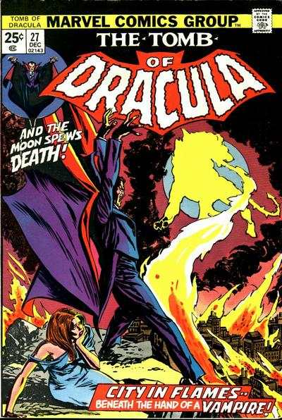 Tomb of Dracula #27 comic books - cover scans photos Tomb of Dracula #27 comic books - covers, picture gallery