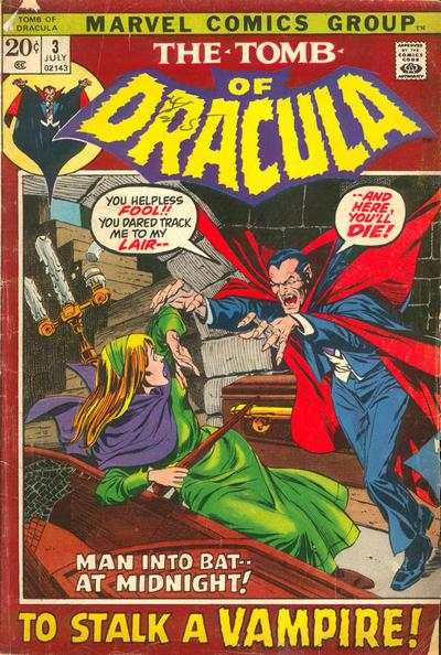 Tomb of Dracula #3 Comic Books - Covers, Scans, Photos  in Tomb of Dracula Comic Books - Covers, Scans, Gallery