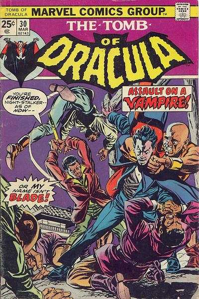 Tomb of Dracula #30 cheap bargain discounted comic books Tomb of Dracula #30 comic books