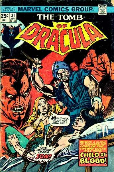 Tomb of Dracula #31 Comic Books - Covers, Scans, Photos  in Tomb of Dracula Comic Books - Covers, Scans, Gallery