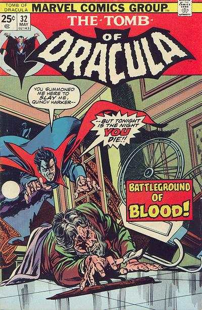 Tomb of Dracula #32 Comic Books - Covers, Scans, Photos  in Tomb of Dracula Comic Books - Covers, Scans, Gallery