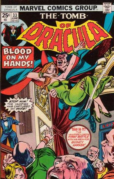 Tomb of Dracula #33 comic books - cover scans photos Tomb of Dracula #33 comic books - covers, picture gallery
